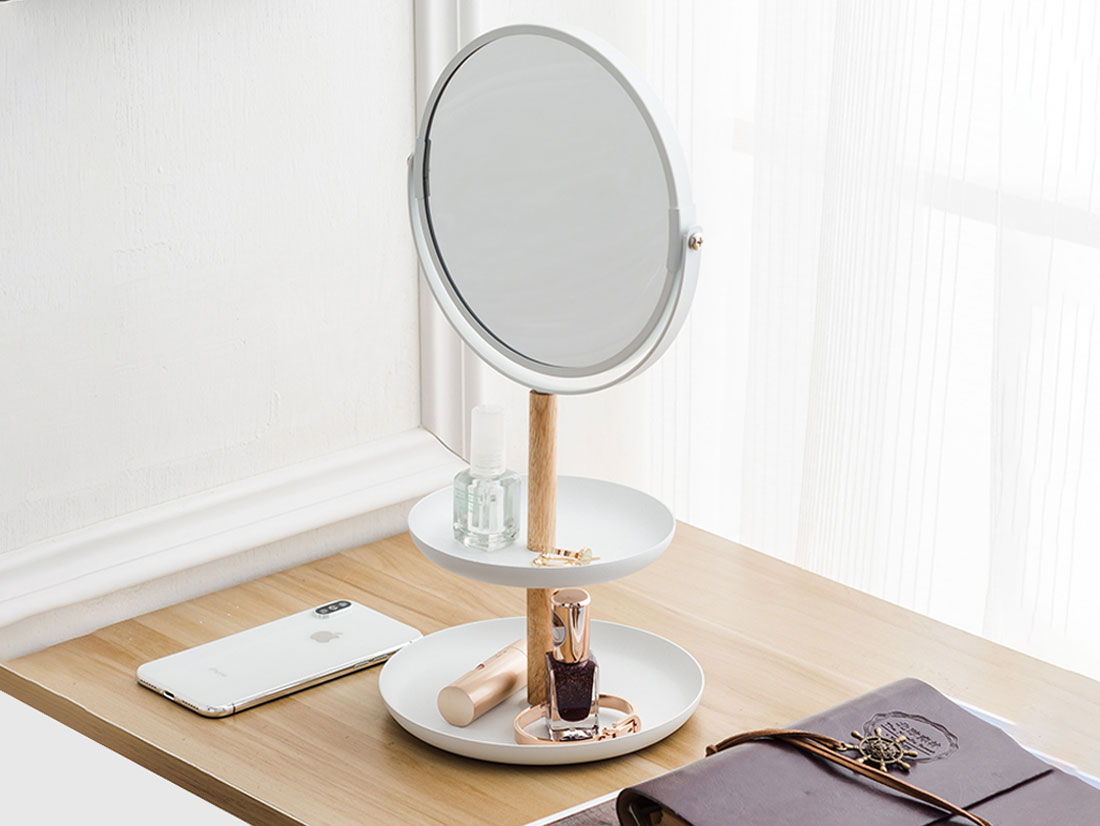 Mirror & Jewelry Holder